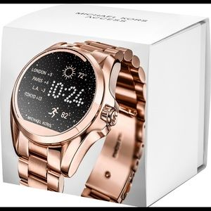 "🆕Michael Kors Access ""Bradshaw""Smart⌚️Rose-Gold🌹"